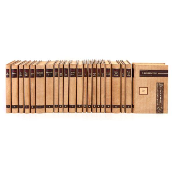 Biblioteka gabinetowa złożona z książek Kapuścińskiego Ryszarda, Dzieła idealna na prezent biznesowy