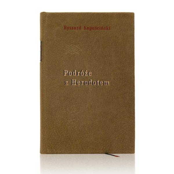 Książka Kapuścińskiego Ryszarda, Dzieła w skórzanej oprawie