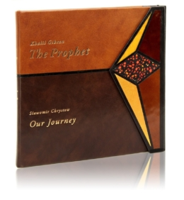 Książka Gibrana Khalila, The Prophet w skórzanej oprawie