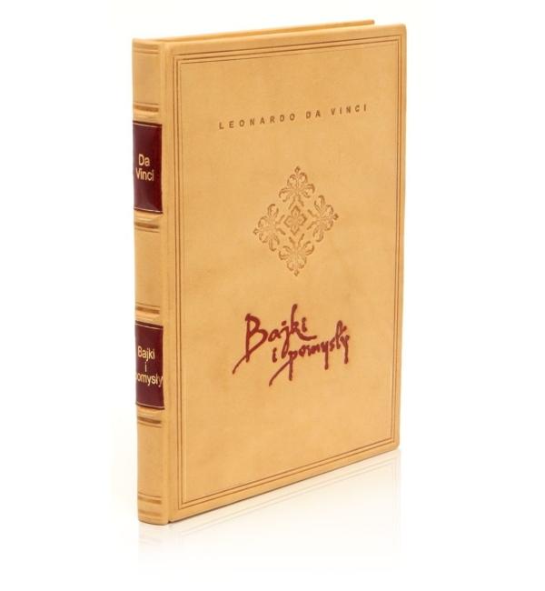 Książka Leonarda da Vinci - Bajki i pomysły wspaniała na prezent