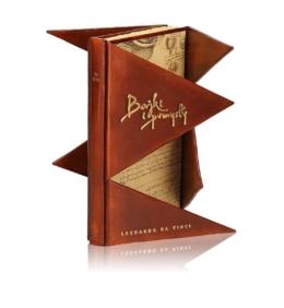 Piękna książka Leonarda da Vinci - Bajki i pomysły (unikat) na ekskluzywny prezent