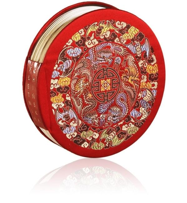 Książka artystyczna Fletnia chińska na luksusowy prezent