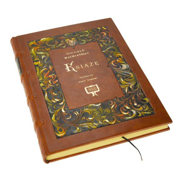 Artystyczne wydanie książki Machiavellego Niccolò, Książę