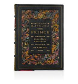 Książka kolekcjonerska Machiavellego Niccolò, The Prince