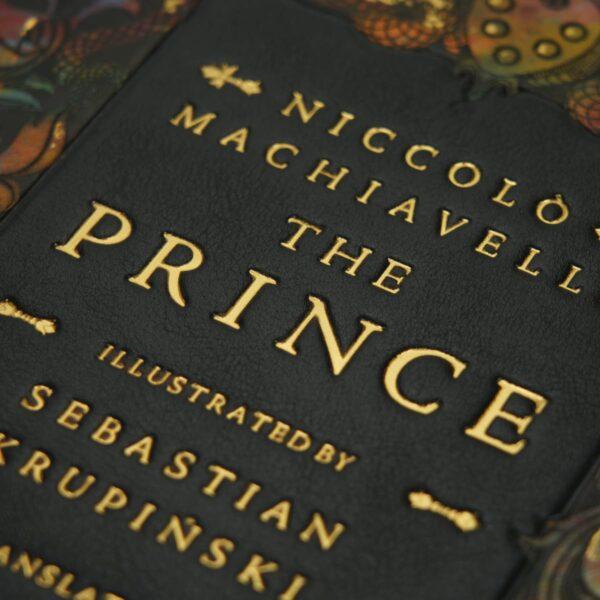 Ekskluzywne wydanie książki Machiavellego Niccolò, The Prince