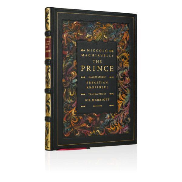 Artystyczna książka Machiavellego Niccolò, The Prince