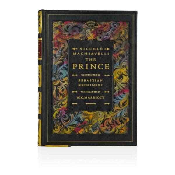 Oprawa introligatorska książki Machiavellego Niccolò, The Prince