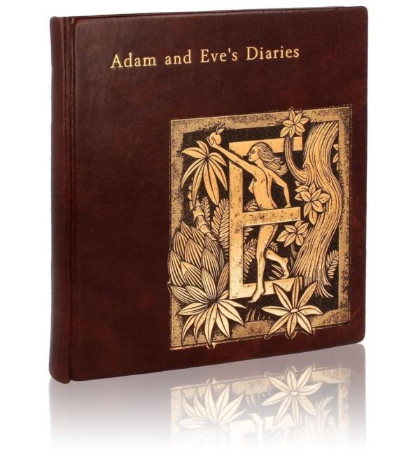 Książka Twaina Marka, Adam and Eve's Diaries na prezent ekskluzywny