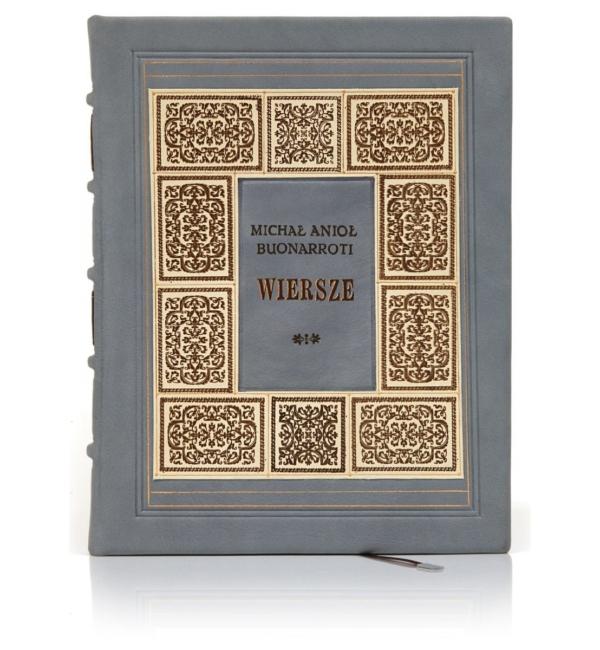Edycja kolekcjonerska książki Michała Anioła Buonarroti - Wiersze