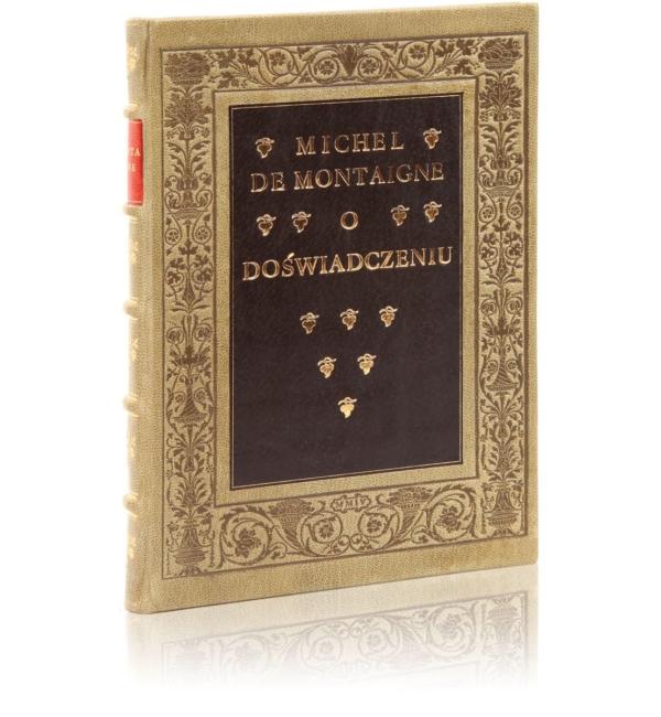 Ekskluzywna książka Montaigne'a Michela de, O doświadczeniu