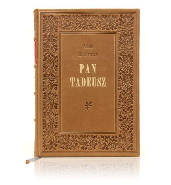 Edycja kolekcjonerska książki Mickiewicza Adama, Pan Tadeusz w wydaniu angielskim
