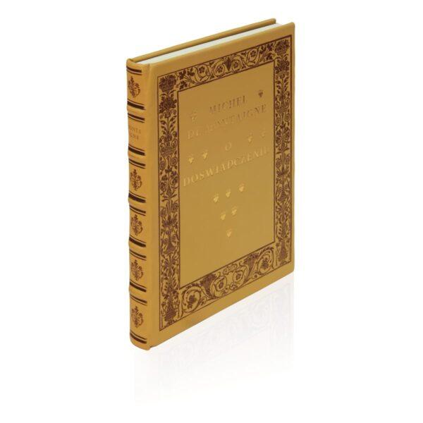 Książka Montaigne'a Michela de, O doświadczeniu na luksusowy prezent