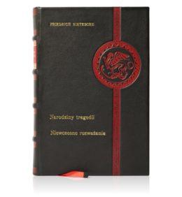 Książka Nietzschego Fryderyka, Dzieła w skórzanej oprawie