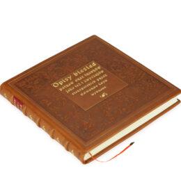 Książka artystyczna Opisy biesiad
