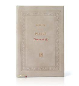 Książka Platona, Dzieła w skórzanej oprawie