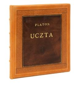 Książka Platona, Uczta w skórzanej oprawie