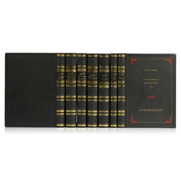 Biblioteka domowa złożona z książek Prousta Marcela, Dzieła