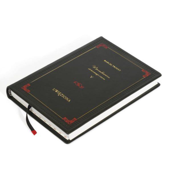 Oprawa książki Prousta Marcela, Dzieła