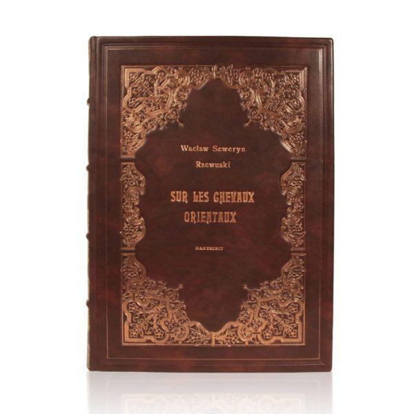 Książka Rzewuskiego Wacława Seweryna, Sur Les Chevaux Orientaux idealna na osobisty prezent