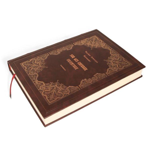 Artystyczna książka Rzewuskiego Wacława Seweryna, Sur Les Chevaux Orientaux