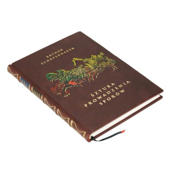 Oprawa artystyczna książki Schopenhauera Arthura, Sztuka prowadzenia sporów