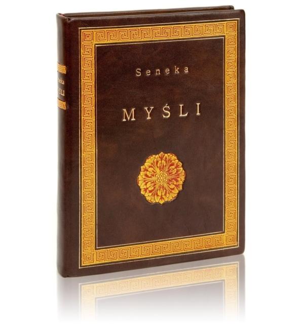 Ekskluzywna książka Seneki - Myśli wspaniała na prezent