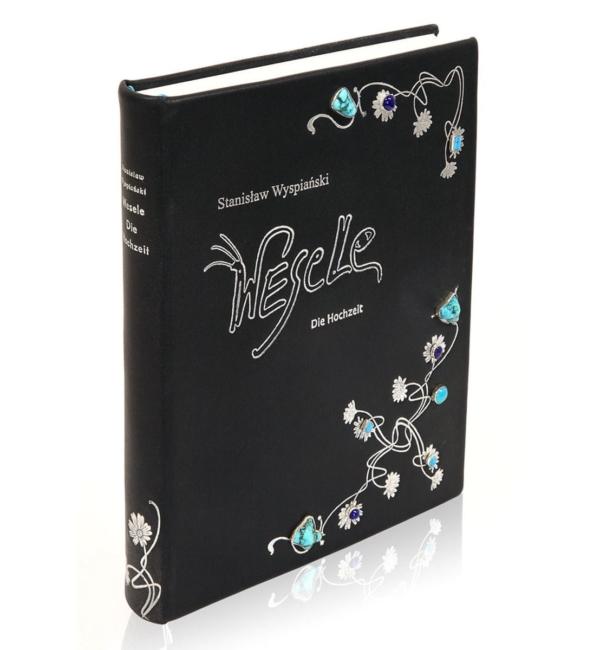 Oprawa artystyczna książki Wyspiańskiego Stanisława, Wesele   Die Hochzeit (unikat)