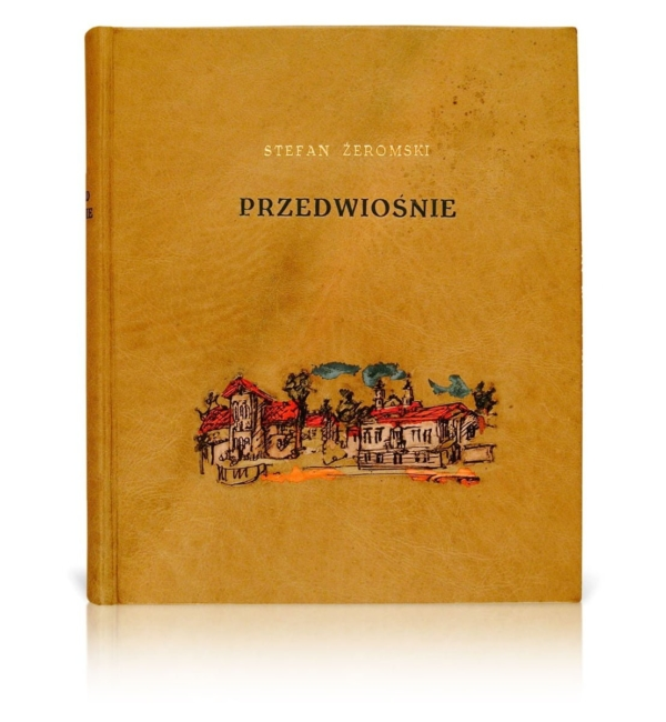 Oprawa introligatorska książki Żeromskiego Stefana, Przedwiośnie