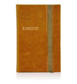 Książka Szekspira Wiliama, Dzieła w oprawie skórzanej