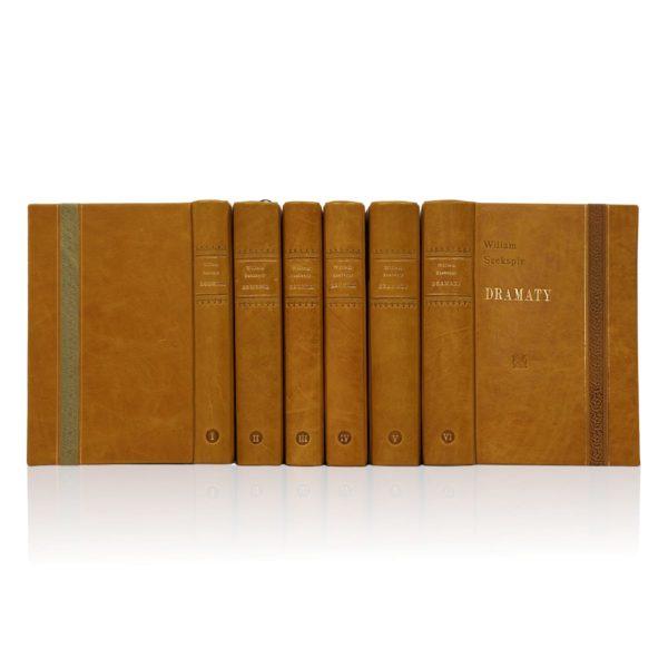 Biblioteka prywatna złożona z książek Szekspira Wiliama, Dzieła