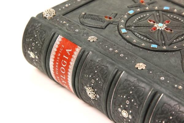 Piękna książka Sienkiewicza Henryka, Trylogia na luksusowy prezent