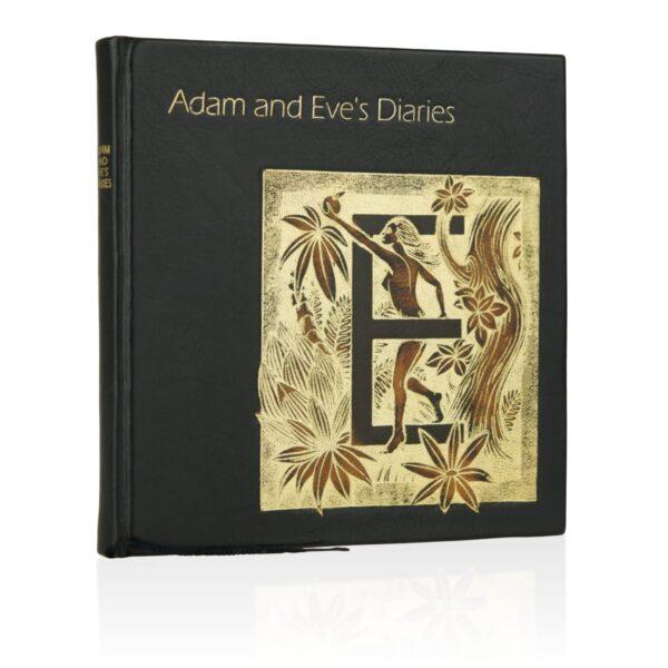 Książka Twaina Marka, Adam and Eve's Diaries w skórzanej oprawie