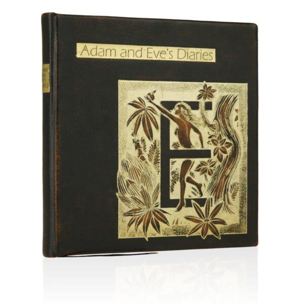 Piękna książka Twaina Marka, Adam and Eve's Diaries