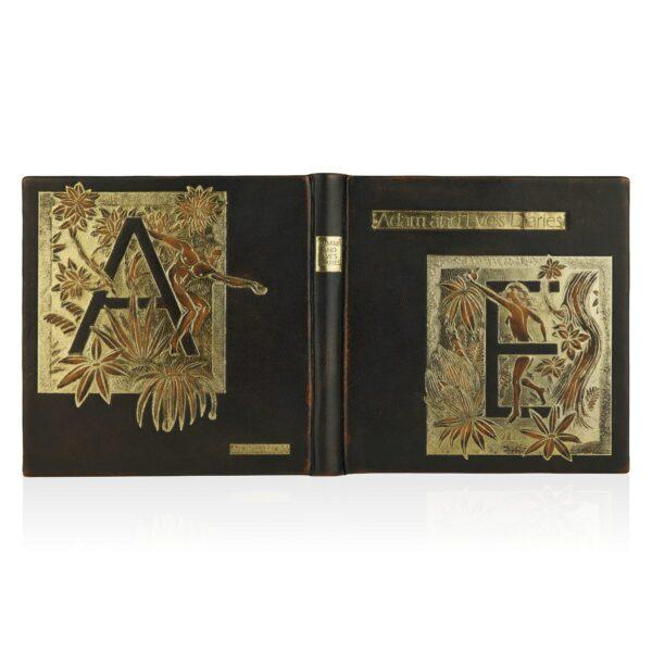 Artystyczne wydanie książki Twaina Marka, Adam and Eve's Diaries