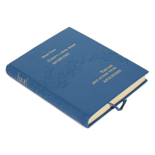 Ekskluzywna książka Twaina Marka, Cnoty i inne wady. Aforyzmy