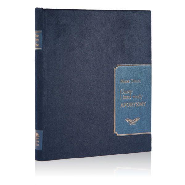 Książka Twaina Marka, Cnoty i inne wady. Aforyzmy w oprawie tkaninowej