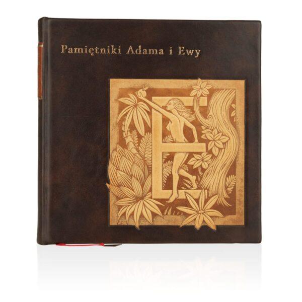 Książka Twaina Marka, Pamiętniki Adama i Ewy idealna na prezent osobisty