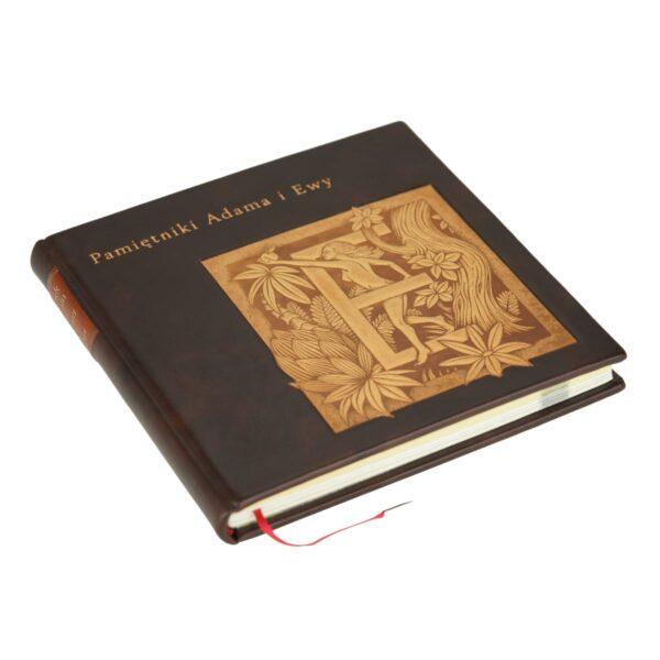 Książka artystyczna autorstwa Twaina Marka, Pamiętniki Adama i Ewy