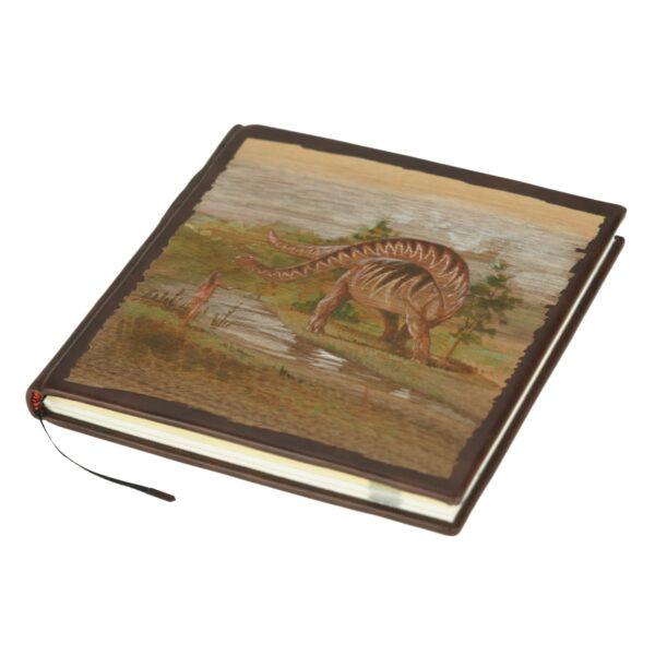 Unikatowa książka Twaina Marka, Pamiętniki Adama i Ewy z ręcznie malowaną oprawą
