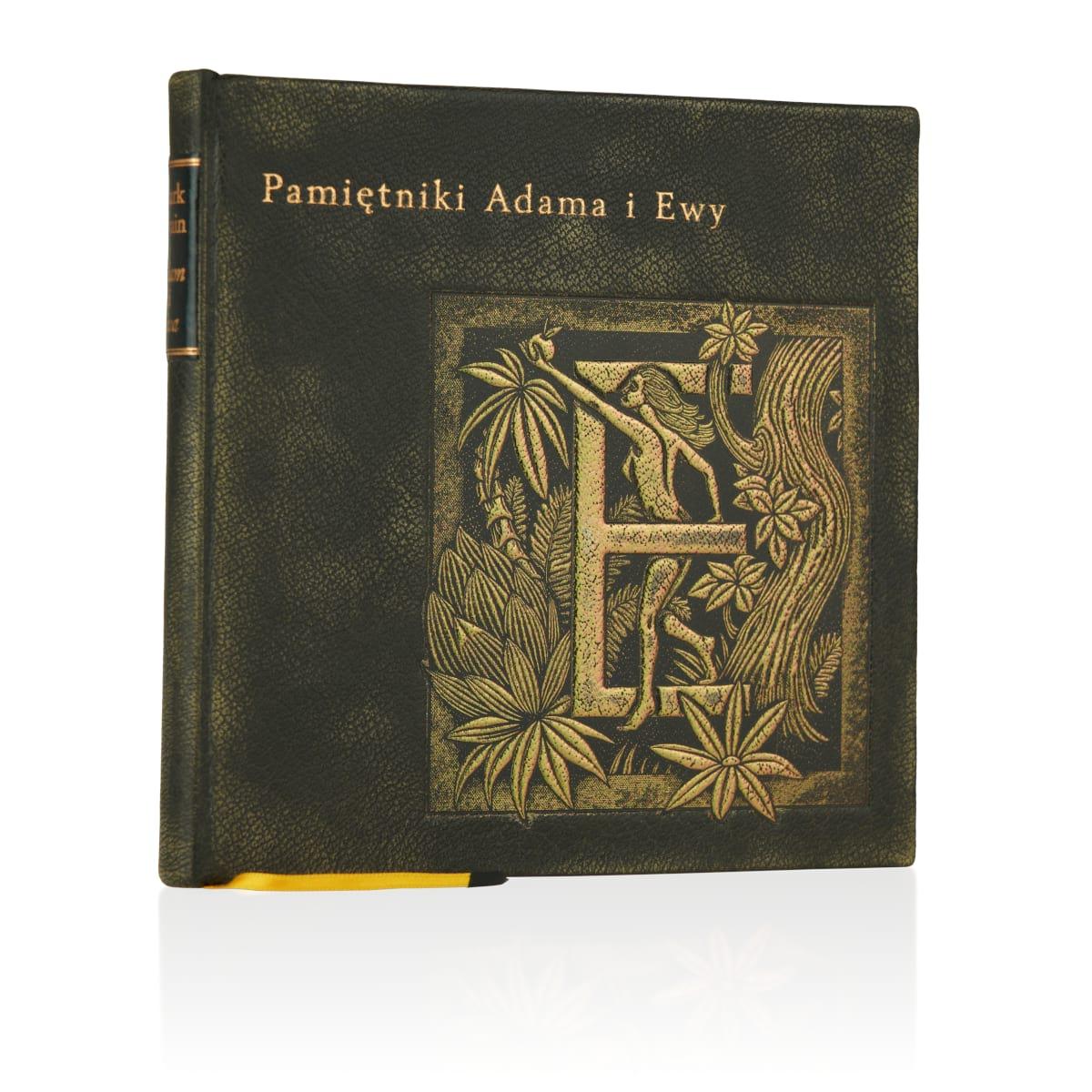 Artystyczne wykonanie na przykładzie książki Twaina Marka, Pamiętniki Adama i Ewy