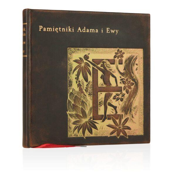 Artystyczne wydanie książki Twaina Marka, Pamiętniki Adama i Ewy