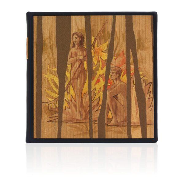 Artystyczne wykonanie na przykładzie unikatowej książki Twaina Marka, Pamiętniki Adama i Ewy