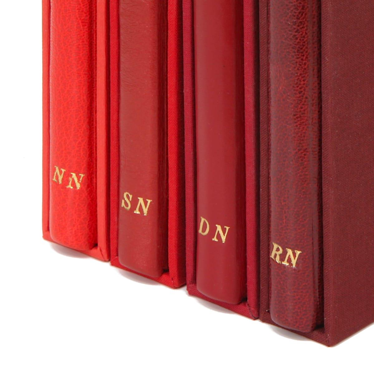 Zbiór książek Twaina Marka, Pamiętniki Adama i Ewy z inicjałami na grzbiecie